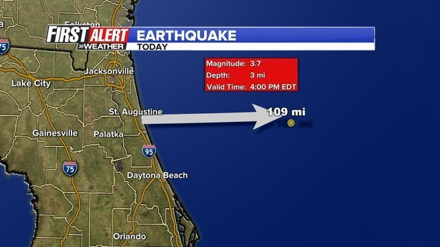 Florida Earthquake 3.7