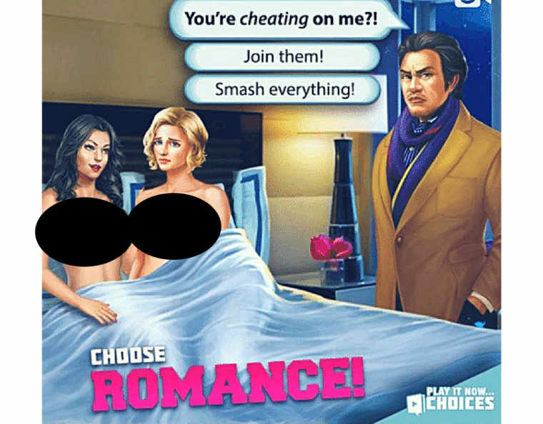 Choice sex games